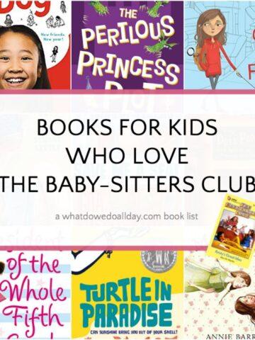 List of Babysitters Club book read alikes