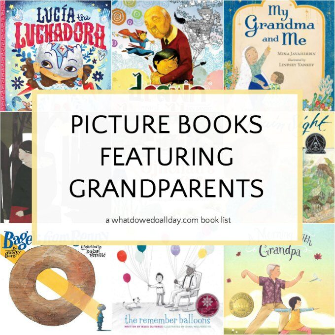 List of Children's books about grandparents