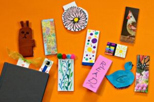 Assortment of unique diy magnetic bookmarks