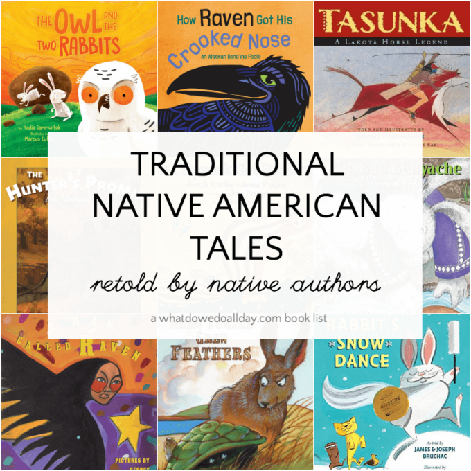 Picture book list of Native American folktales