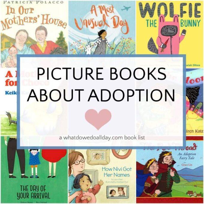 Children's books about adoption
