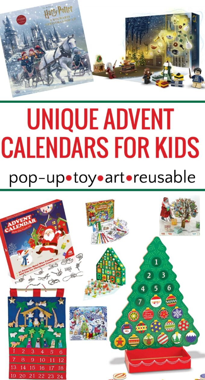 The best advent calendars for kids