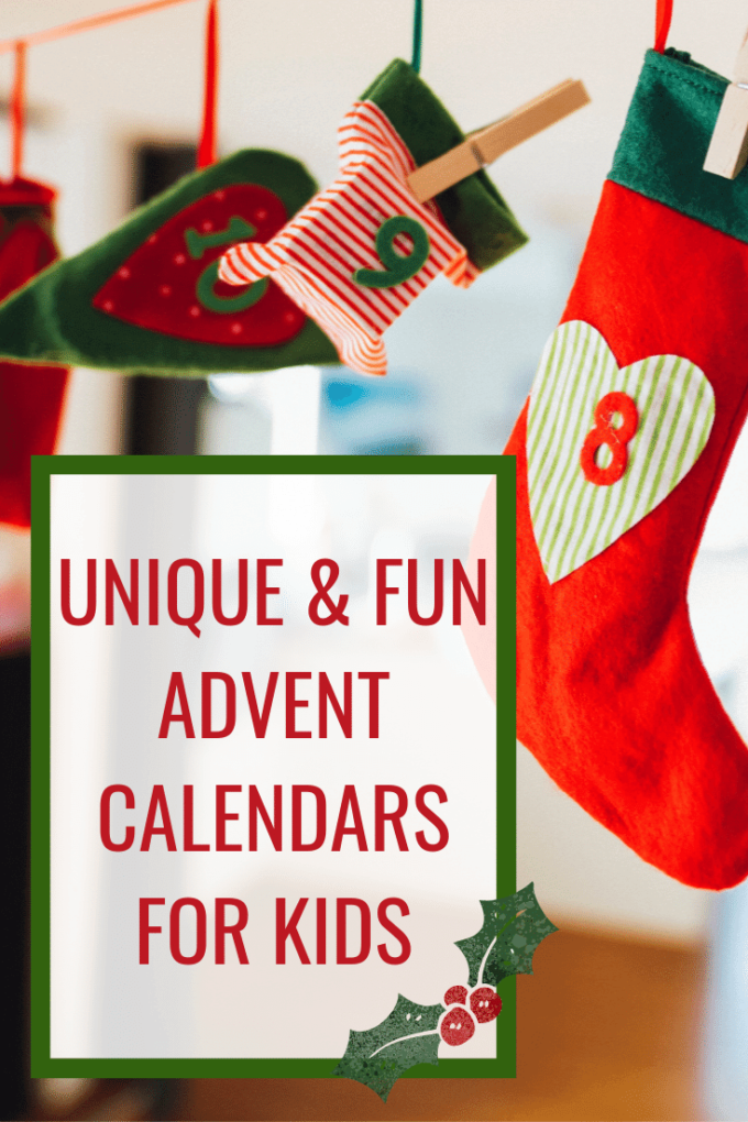 Fun advent calendars for kdis