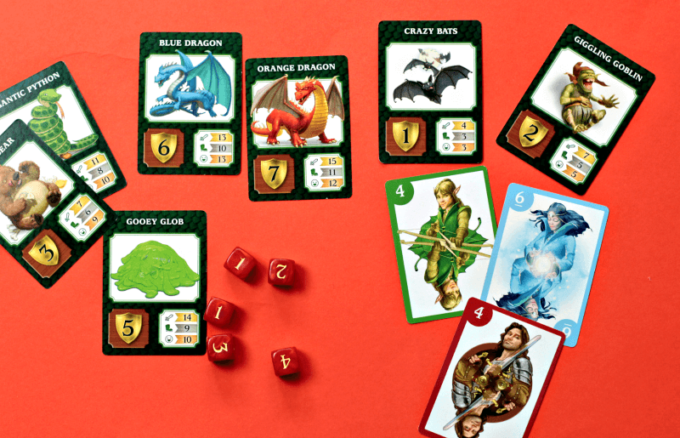 Dragonwood game from Gamewright