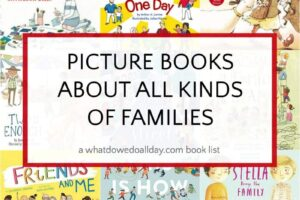 Children's books about families