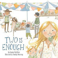 Two is enough book about single mom family