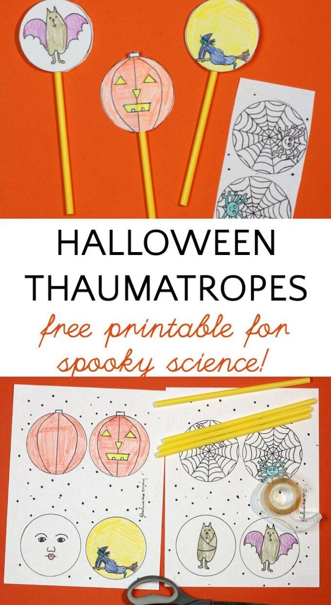 Printable Halloween STEM project