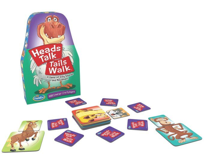 Heads Talk Tails Walk preschool game