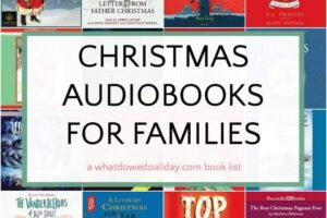 Best Christmas audiobooks for families