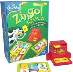 Zingo sight words game