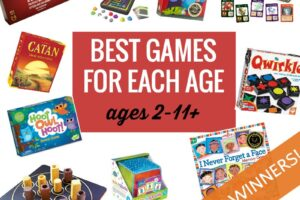 Best games for ages 2-11 and up