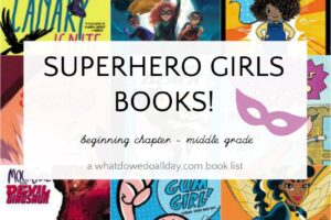 List of girl superhero books for kids