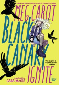 Black Canary superhero graphic novel