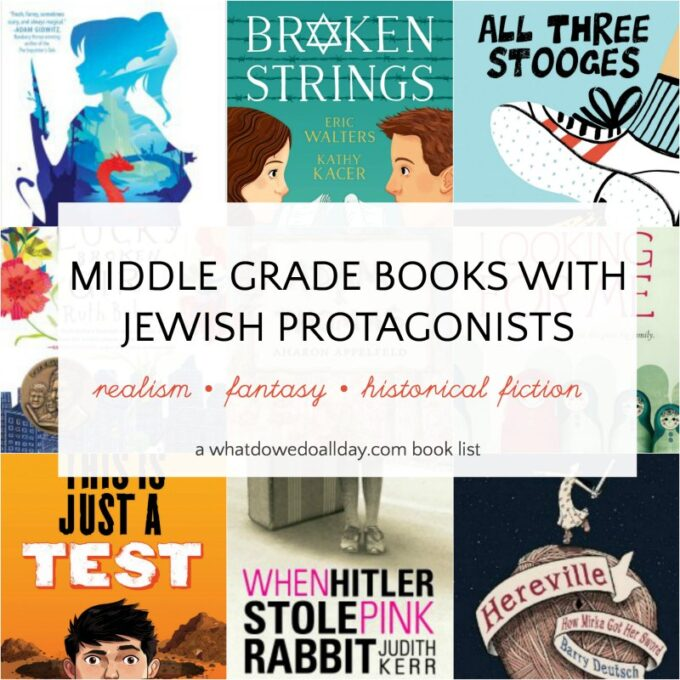 Jewish middle grade book list