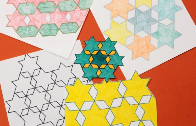 Decorated star tessellations