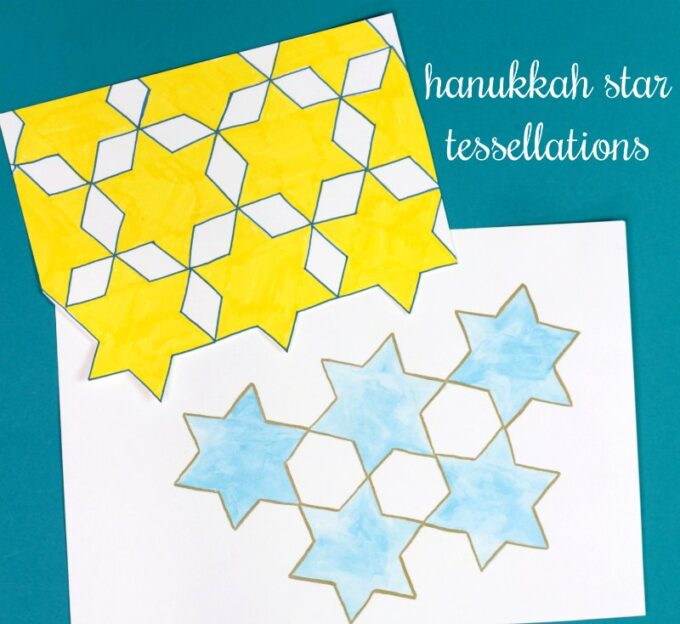 Star of David tessellations