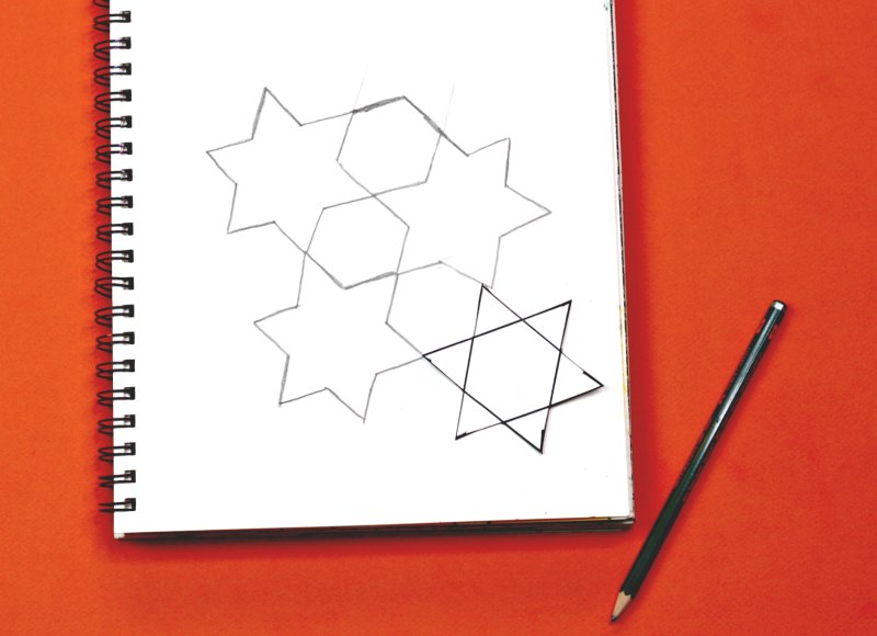 Star and hexagon tessellation