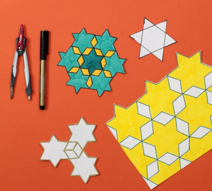 Star tessellation examples