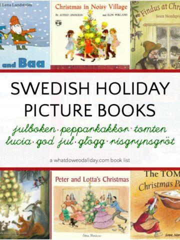 Swedish Christmas books