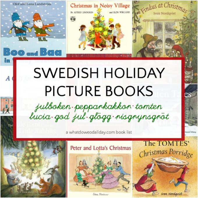 Swedish Christmas books