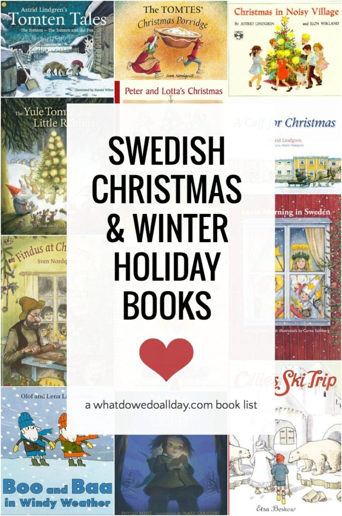 List of Swedish Christmas books, St. Lucia Day and winter picture books