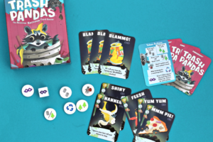 Trash Pandas card game by Gamewright