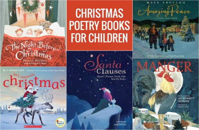 Christmas picture poetry books for kids