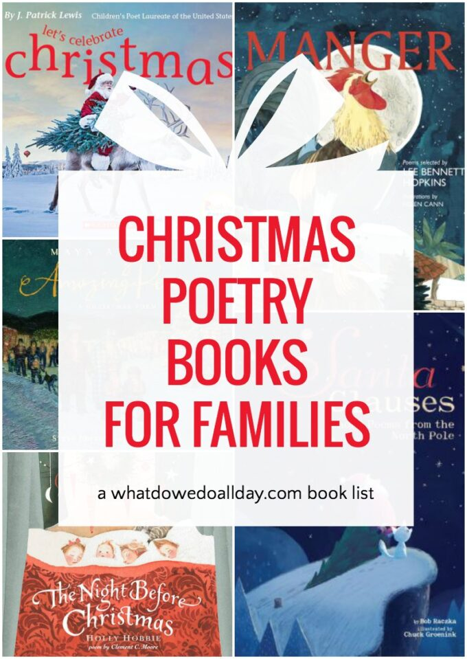 List of Christmas poetry books