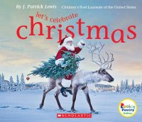 Christmas poetry collection book by J. Patrick Lewis