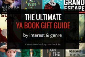 YA book gift guide