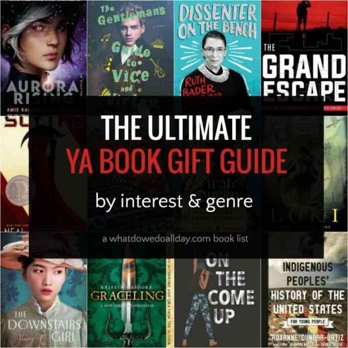 Ultimate YA Book Gift Guide: Books that are Teen Approved!