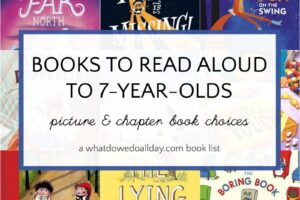 Books to read aloud to 7 year olds