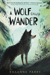 Wolf Called Wander book cover
