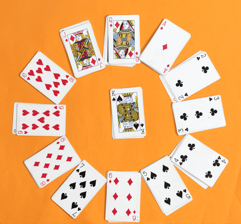 Clock Solitaire Card Game Keeps Kids Busy