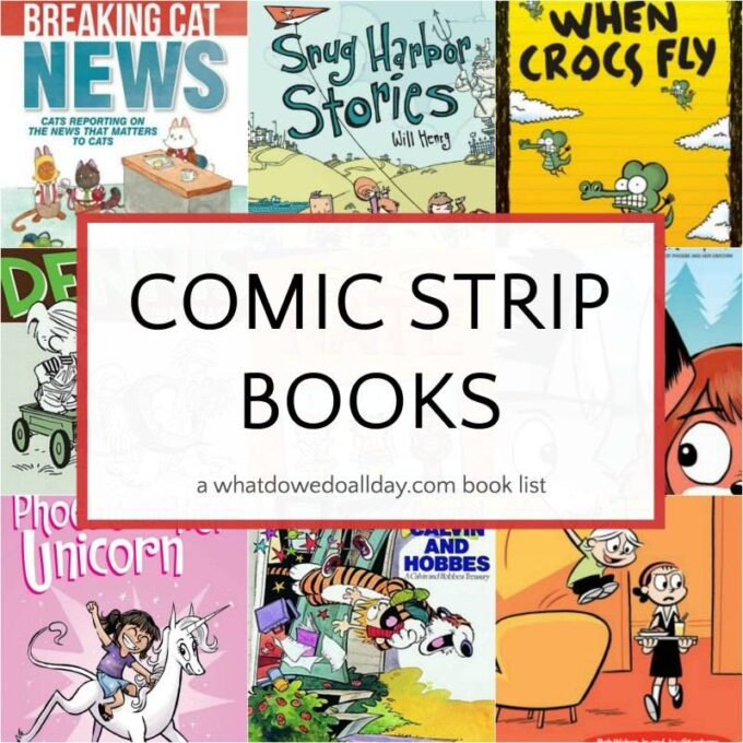 Collection of comic strip books kids will love