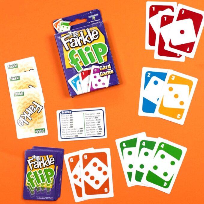 Farkle Flip card game