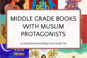 Middle Grade Novels with Muslim Characters