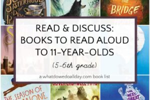 Books to read aloud to 11 year olds