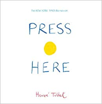 Press Here cover interactive picture book
