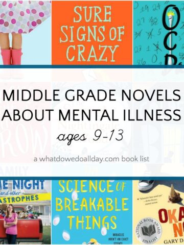 List of children's books about mental ilness