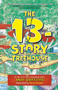 13 story treehouse book