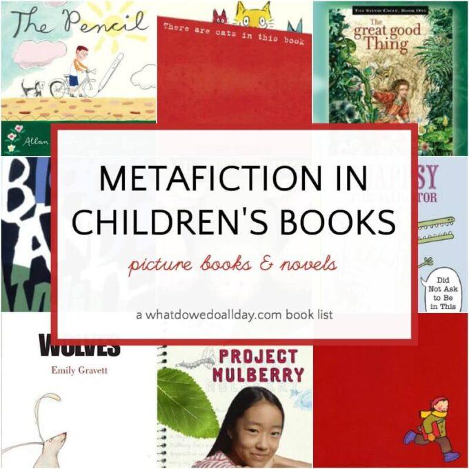 Metafiction in children's books