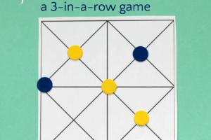 picaria game board
