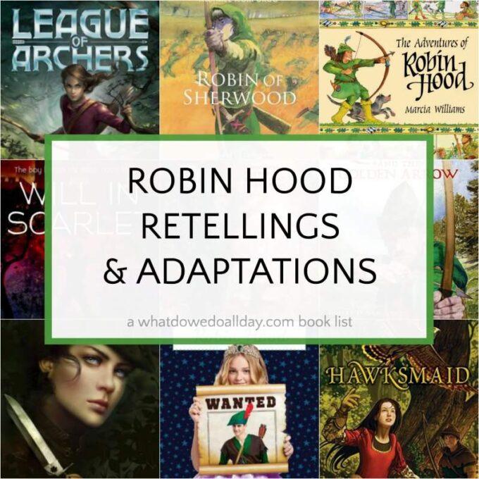 Robin Hood Books list