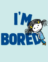 I'm bored picture book