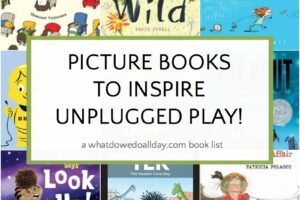 Picture books about unplugging