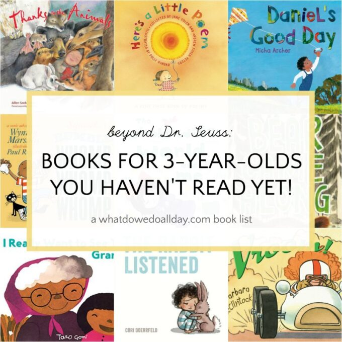Best books for 3 year olds