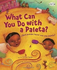What Can You Do With a paleta bilingual picture book