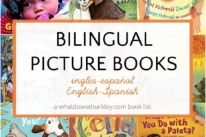 Bilingual picture books for kids