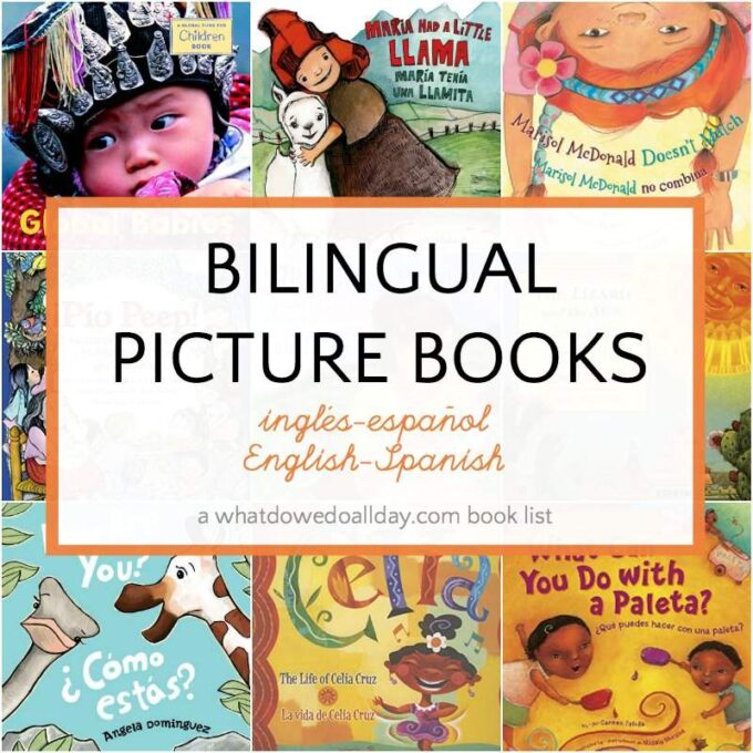 List of Bilingual children's books